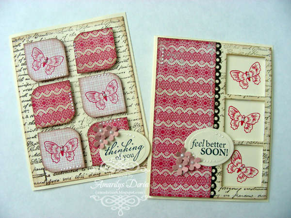 pink card set {AWDML DT}