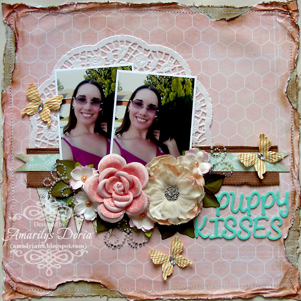 "Puppy Kisses  {May 2013 ""Spring into May"" Kit}"
