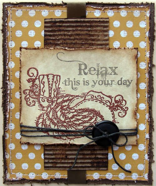 Relax this is your day {Heartfelt Creations DT}