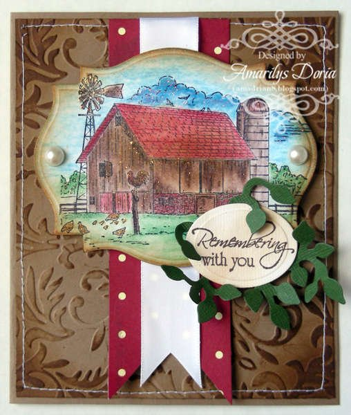 remembering with you card {Heartfelt Creations DT}
