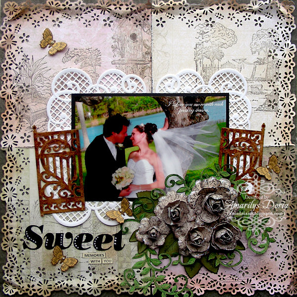 sweet memories {Heartfelt Creations DT}