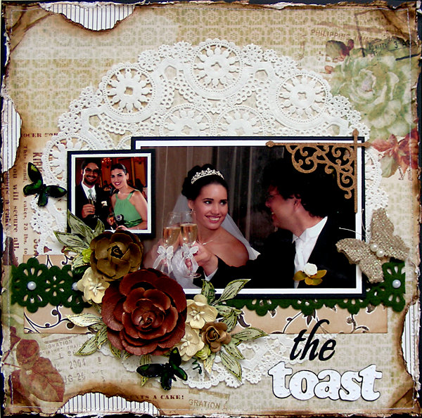 """the toast {July 2013 """"Hope Chest"""" Kit}"""