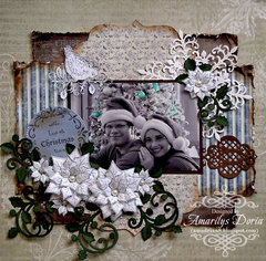 with love at Christmas time {Heartfelt Creations DT}