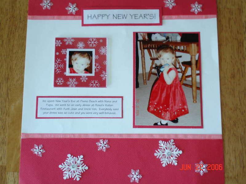 Emma's 1st New Year's
