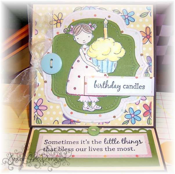 Cupcake Cuties Easel Card