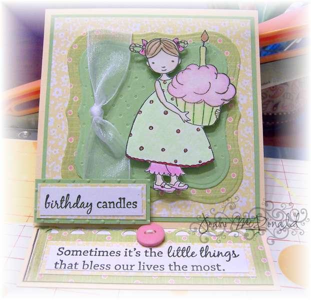 Cupcake Cuties Easel Card