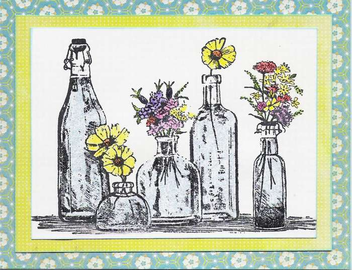 Bottles of Flowers