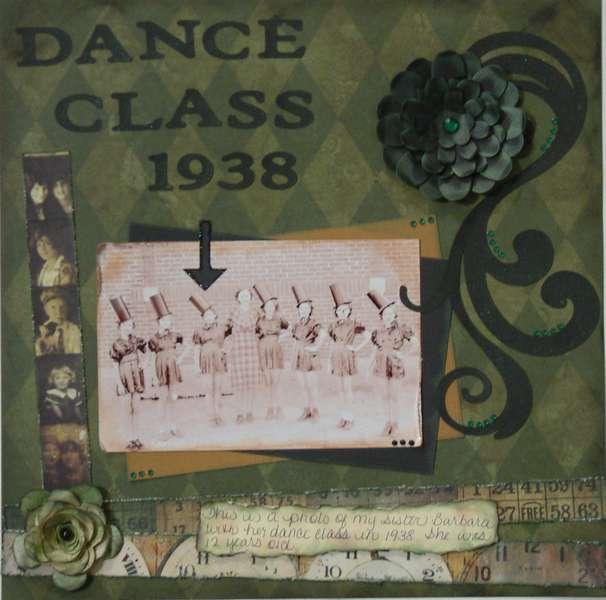 Dance Class 1938