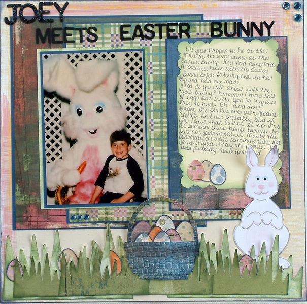 Joey Meets Easter Bunny