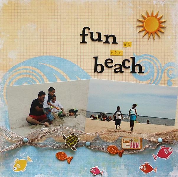 fun in the beach