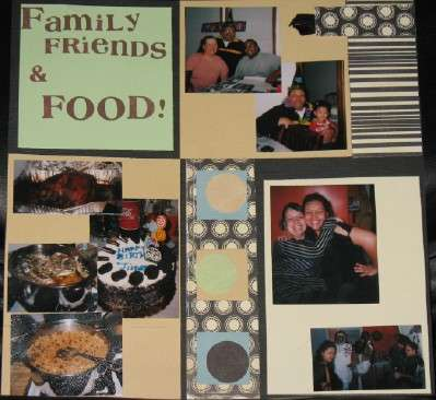 Family Friends and Food!