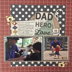 Dad-a son's first hero-a daughter's first love