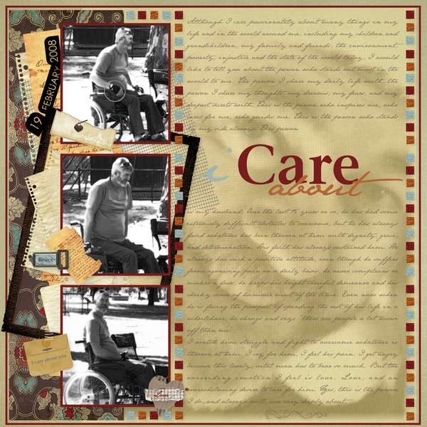 I Care About.......