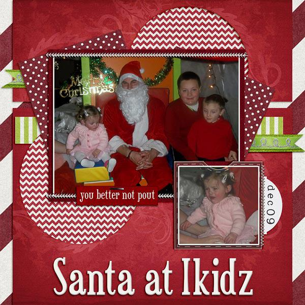 Santa At Ikidz