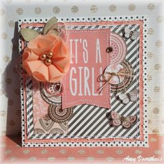 It's a girl card