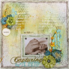 Capturing the Moment Layout for ***Lindy's Stamp Gang***