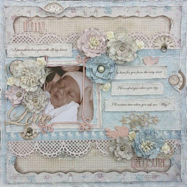 Tiny Treasure layout for ***Maja Design***