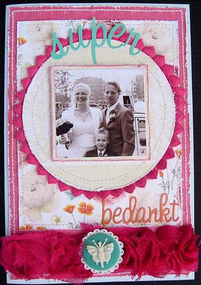 Thank you card * Sunday Picnic *