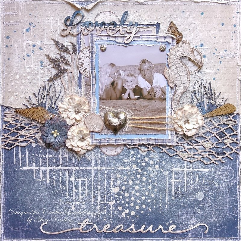 Lovely Treasure for *Creative Embellishments*
