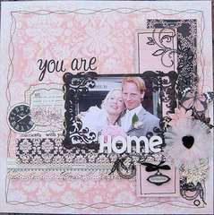 You are my home *Prima Marketings Almanac collection*
