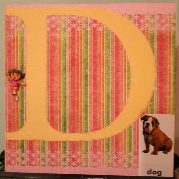D Alphabet Album