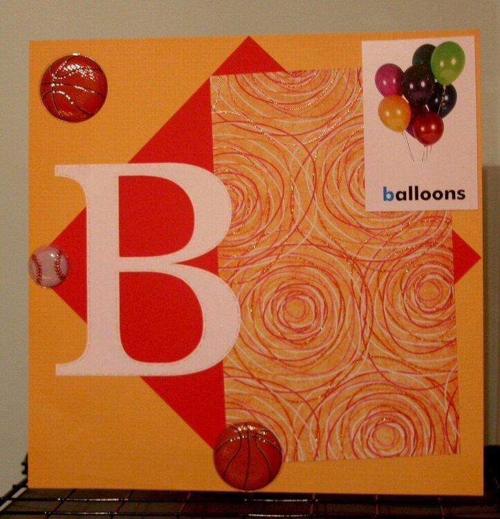 B Alphabet Album