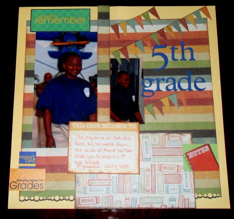 Patrick 5th grade graduation