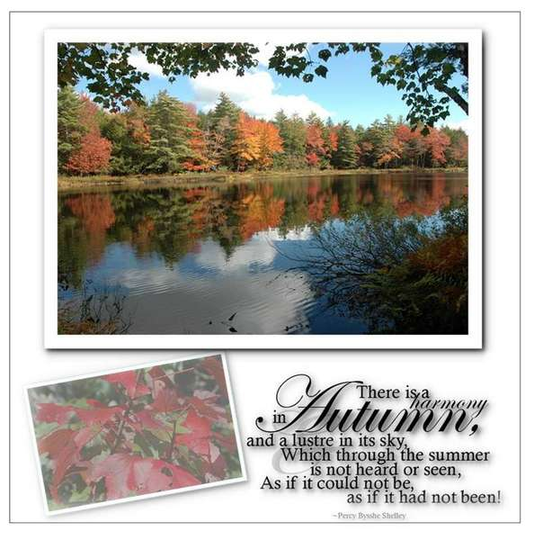 The beauty of Autumn in Canada