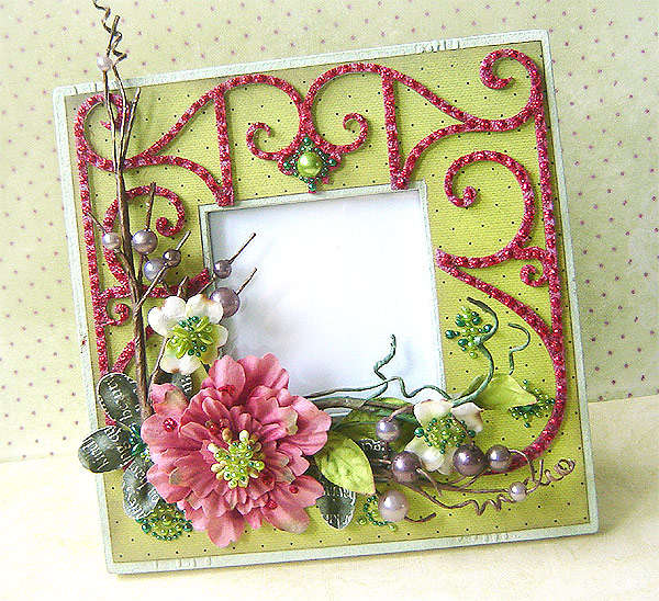 6 x 6 Christmas photo frame *Prima*