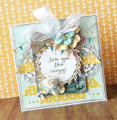 {I love you like crazy} card *Glitz Design*
