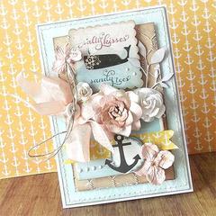 {Salty Kisses} card *Glitz Design*