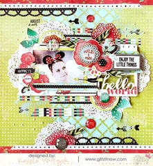 {Hello World} layout * Glitz Design*