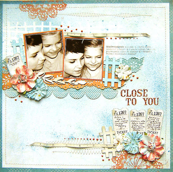 {Close To You} *TCR # 30*
