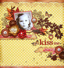 {Kiss me} *The Color Room#32*