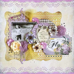{Learn to Fly} *Glitz Design*