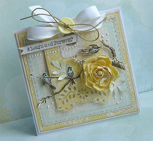 {Always and Forever}card - NEW Webster's Pages