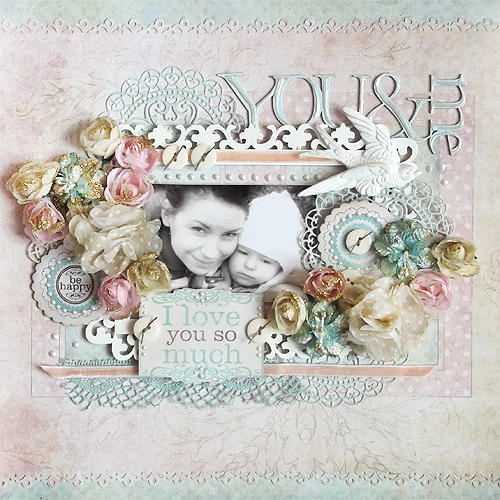 {You and Me} *Manor House Creations*