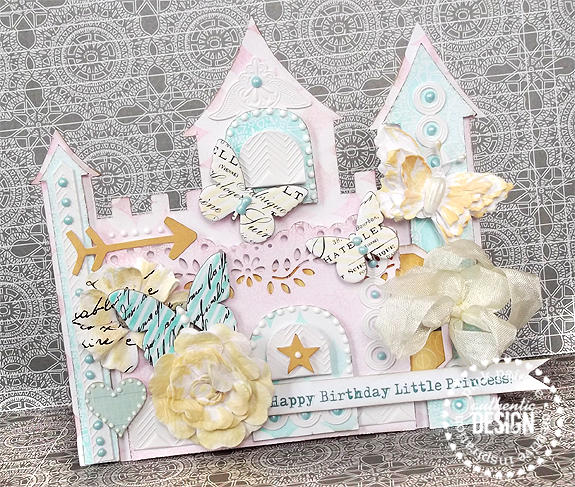 {Happy Birthday Little Princess} card *Pink Paislee*