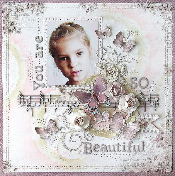 {You Are So Beautiful} *ScrapThat!*