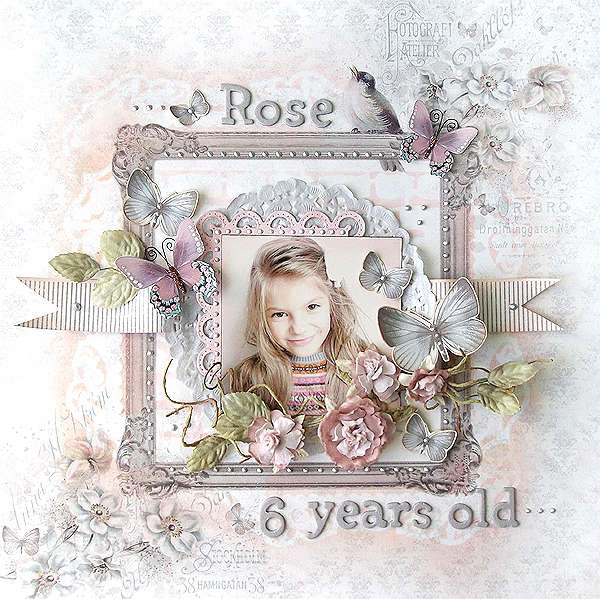 {Rose - 6 years old} *ScrapThat!*