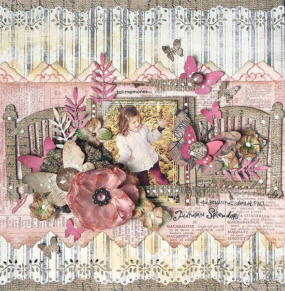 {Autumn Splendor} *Swirlydoos March Kit *