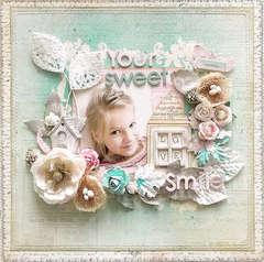{Your Sweet Smile}*Prima & TA Blog Hop*