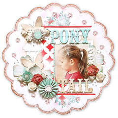 {Ponytail} *NEW Pink Paislee & The Color Room*