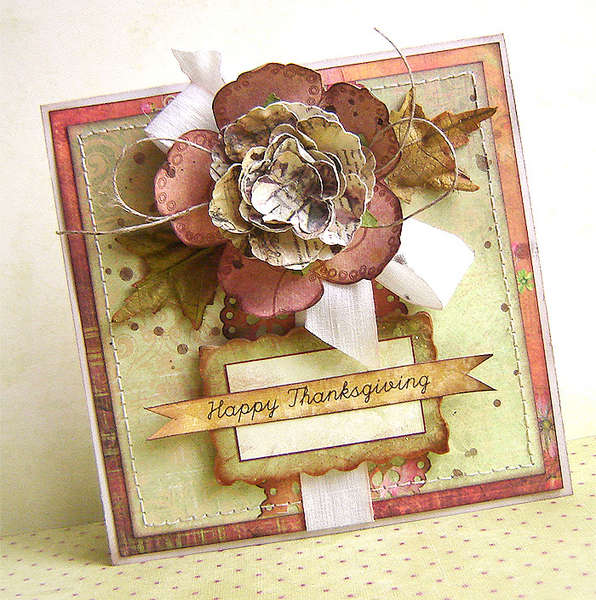 {Happy Thanksgiving} - card *Prima*