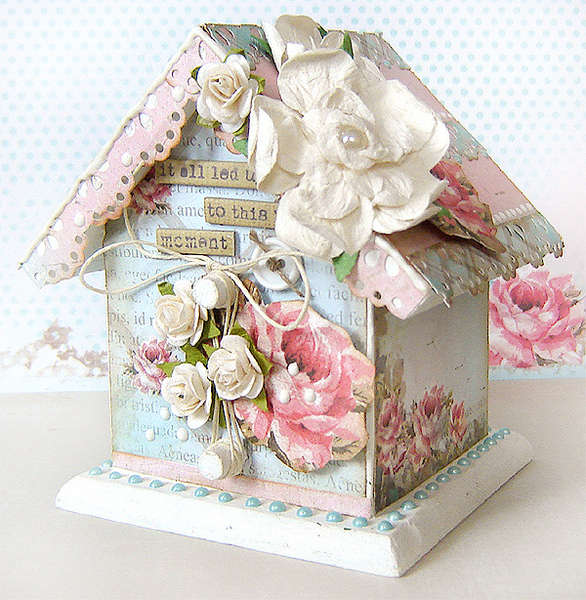 Altered House - *The ScrapCake*