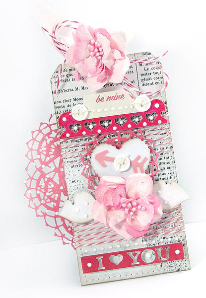 Valentine's Day Tag 2 *Pink Paislee*