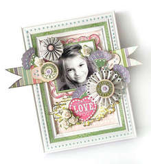 {Love You} - frame *Pink Paislee*
