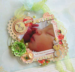 Acrylic Frame - My Baby