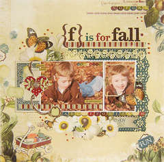 {F is for fall} *Webster's Pages*