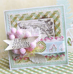 Christmas card *Webster's Pages Blog Hop*